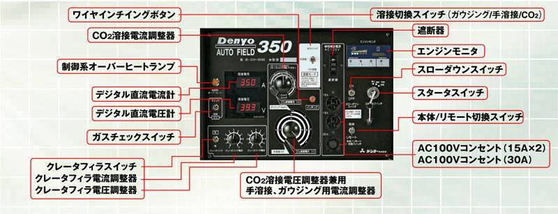 dcw-350es 炭酸ガス溶接機-1